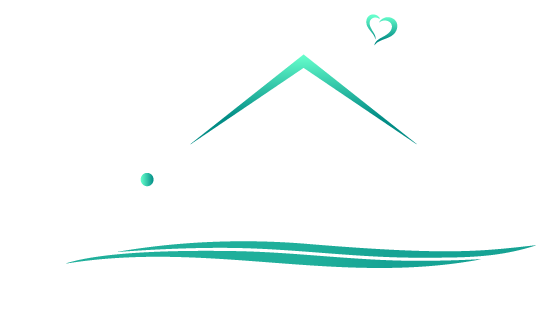 easy living logo reversed